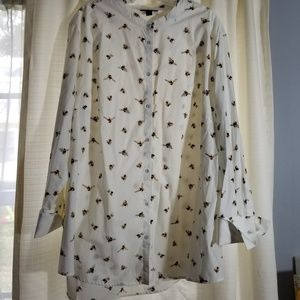 Victoria Beckham for Target Bee Tunic Plus Top 3X